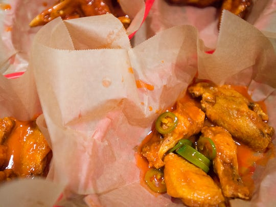 Jim's Wings serves up an assortment of wings at different