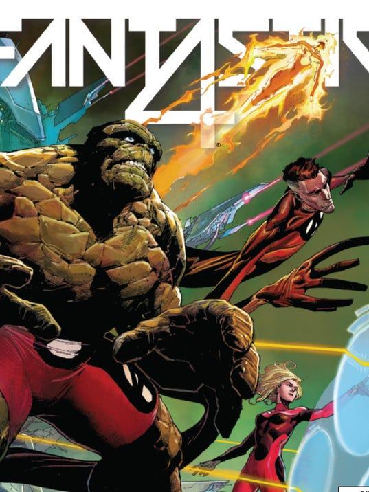 Fantastic Four cover