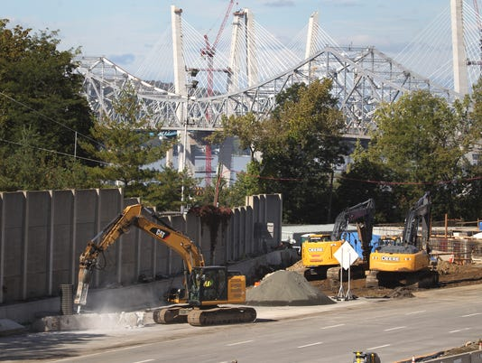 Demolition starts on Tappan Zee Bridge