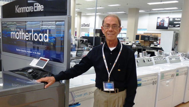 Ben Barrett leaves a legacy of good service with customers he served for 49 years at the Tri-County Sears store. He retired Sept. 23.