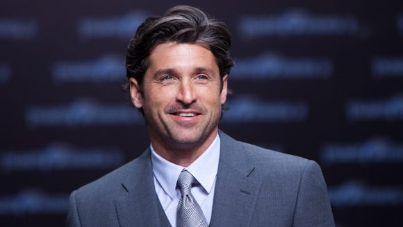 """""""I'm too blessed to be stressed.""""—Patrick Dempsey,"""