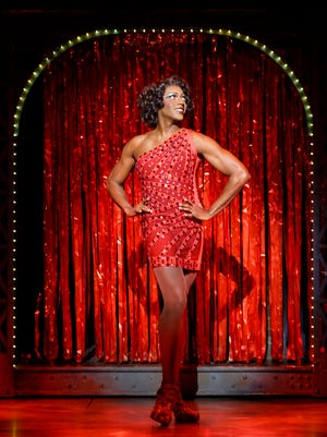 "Timothy Ware in the musical ""Kinky Boots."""