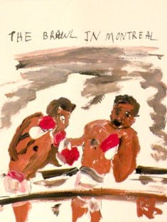 """The Brawl in Montreal"" by Robert Sundholm"