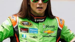 Danica Patrick reacts to NASCAR penalties