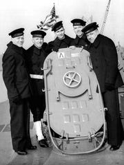 The five Sullivan brothers (from left to right) Joseph,