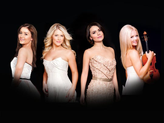 Celtic Woman will perform Thursday at the Saenger Theatre.