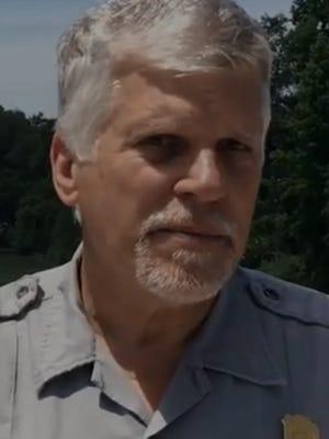 Whiskeytown National Recreation Area Superintendent Jim Milestone.
