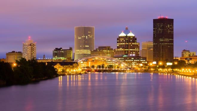 Downtown Rochester skyline