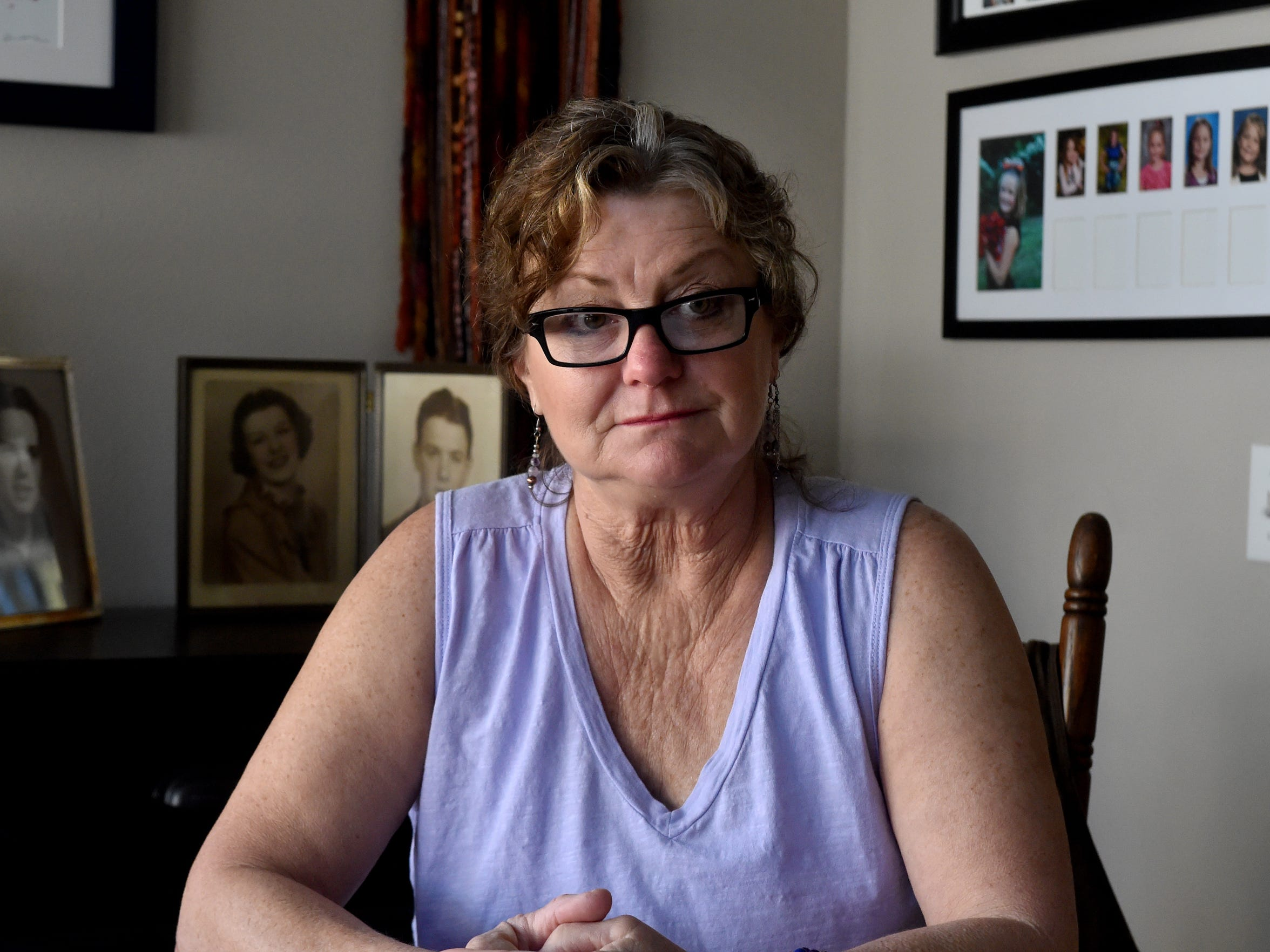Debra Zinskey, a recently retired dispatch training