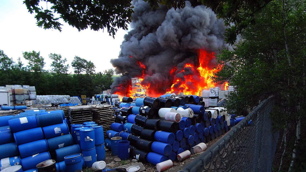 Dangers of the drum reconditioning industry