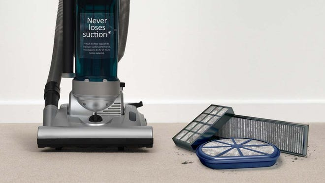 The Dyson Cinetic Big Ball vacuum cleaner.