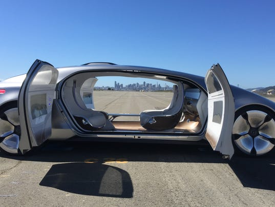 Visiting the future in Mercedes' F 015 autonomous car