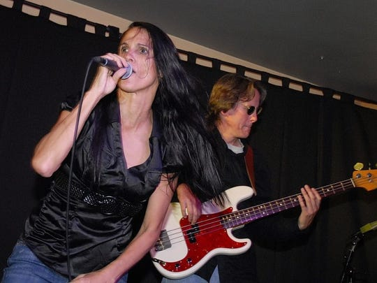 Singer Kelly Zirbes and bass player Matt McFadden perform with Kelly's Lot. CONTRIBUTED PHOTO