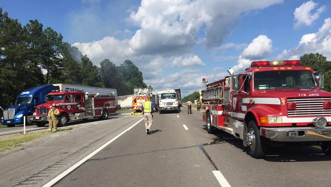 A fatal wreck involving a semi and at least two passenger vehicles occurred Friday afternoon at exit 172 on Interstate 40 westbound.