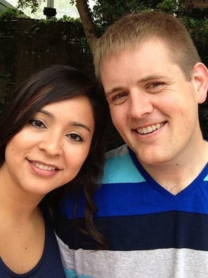 """Sol De La Cruz and Josh Swanson, who will wed during the free """"Marry Me Weekend"""" at Life Church."""