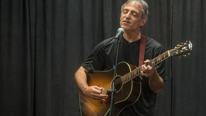 Singer, songwriter and storyteller Chuck Brodsky performs Thursday, May 18, 2017, at the Montgomery Advertiser in a special concert free to Advertiser Insiders.