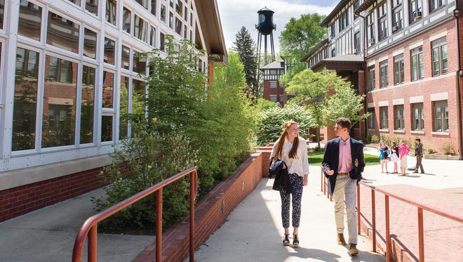 """Architectural Digest has named Asheville School as the """"most beautiful private high school"""" in North Carolina."""