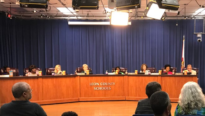 Leon County School Board meets on Tuesday March 27.