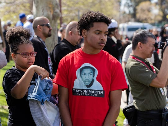 Mourners gather for the funeral of Stephon Clark at