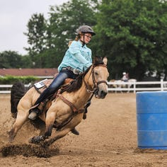 Riders not horsing around at Marion County Fair