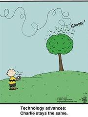 Leigh Rubin, the cartoonist behind Rubes, parodies