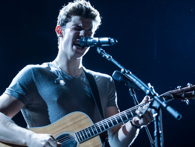 Shawn Mendes performs as the Show of the Summer rolled