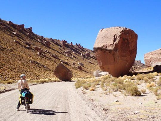 Denise LaFountaine embarked on a 5,000 mile bicycle tour of South America in September 2016.