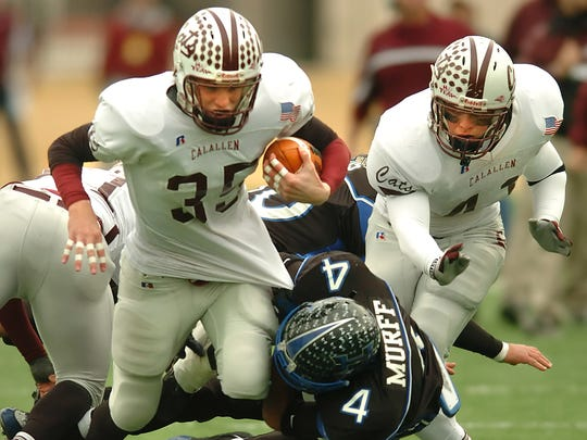In Calallen's only appearance in a state championship, the Wildcats lost to Lewsiville Hebron 28-0.