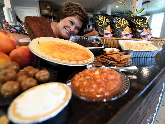 CoCo's Catering, owned by Corrie Bradberry, serves