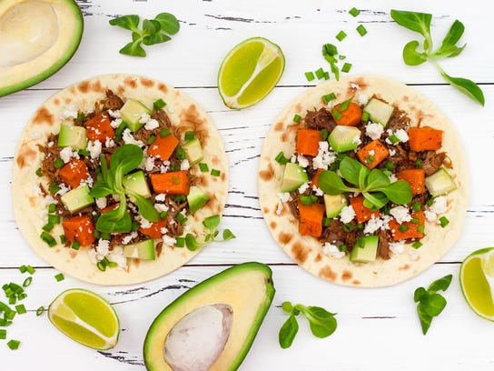 With so many possible combinations, tacos are also