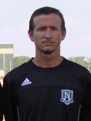 North boys' soccer coach Matt Sturgeon