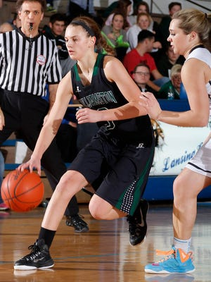 Williamston's Renee Sturm, shown in a photo from last month, had 18 points in Friday's win over Portland.