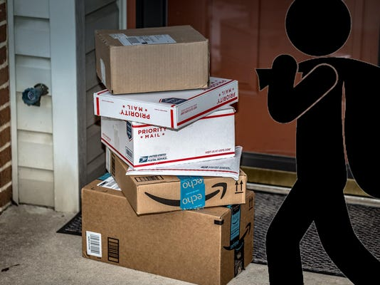 Let Amazon in your house? Get mail at your desk? Here's how to beat 'porch pirates'