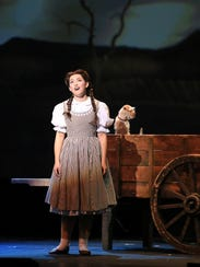 Kalie Kaimann is Dorothy in the national touring production