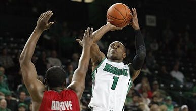 Former Marshall point guard Kareem Canty has committed to Auburn for the second time after decommitting last month and committing to South Florida.