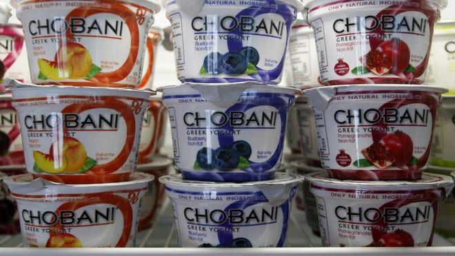 Chobani Greek Yogurt.