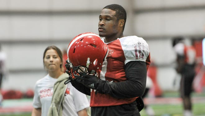 Fifth-year senior T.J. Posey is slated to start at the Mike linebacker spot for UL this season.