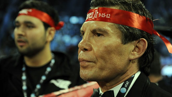 Julio Cesar Chavez Sr., photographed here at Thomas & Mack Center on September 15, 2012 in Las Vegas, will be the guest VIP at Fantasy Springs on March 22.