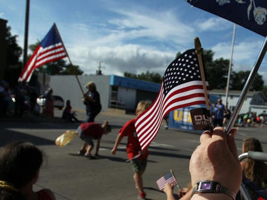 Wausau's annual Labor Day Parade will roll through