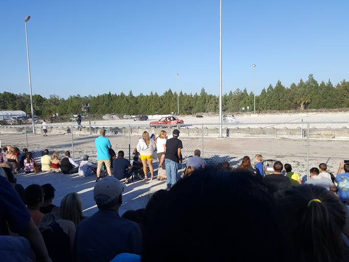 The Collier County Demolition Derby was held at the