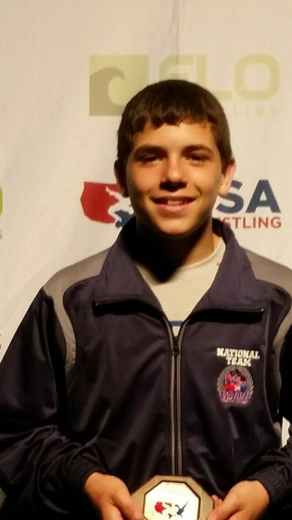 North Henderson rising freshman Josh Blatt placed seventh in the USA Wrestling Cadet Nationals Greco-Roman tournament in Fargo, N.D.