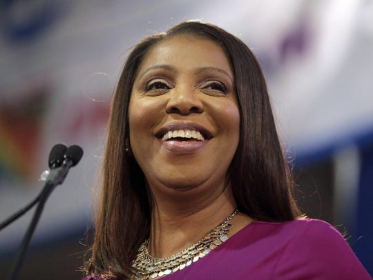 Attorney General Letitia James issued subpoenas Monday