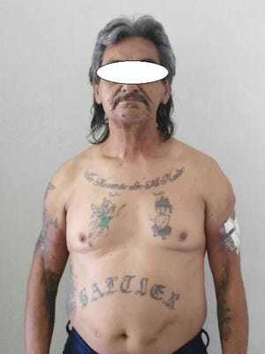 Chihuahua state police arrested a 62-year-old member of the Barrio Azteca gang.