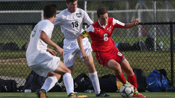 Lucas Fecci, a senior forward, had 11 goals and six assist for Somers last season and was named All-Section.