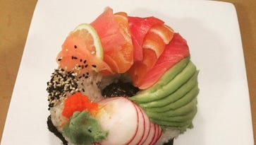 The sushi donut is officially here.