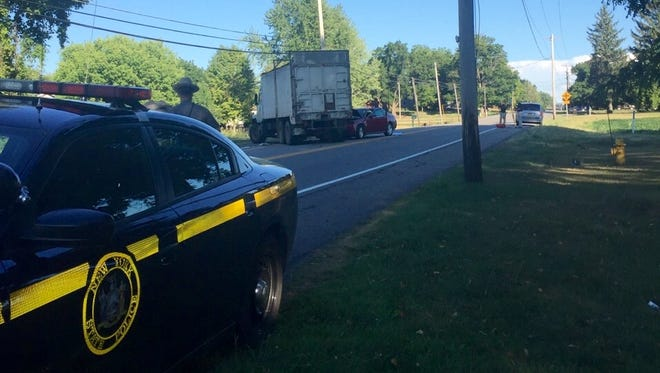 A Genesee County man died in a crash between a car and tractor-trailer on Route 63 in Bethany on Aug. 1, 2016.