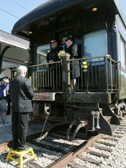 In 2008, Ed Fouse and Wendy Smith were married aboard the Nickel Plate 1 car at the Fishers train station.