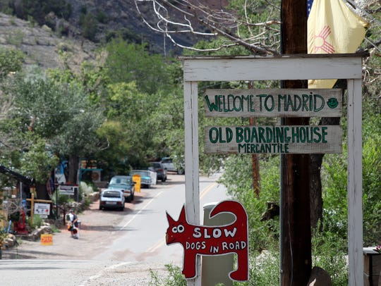 The starting place for a ghost town tour that's listed