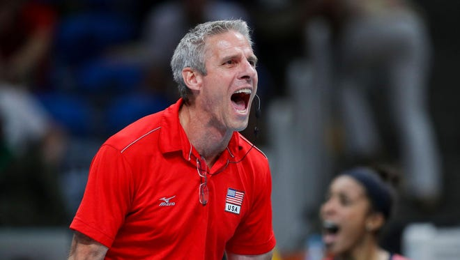 Karch Kiraly, the only player to have won gold in both indoor and beach volleyball, switched to coaching less than 10 years ago.