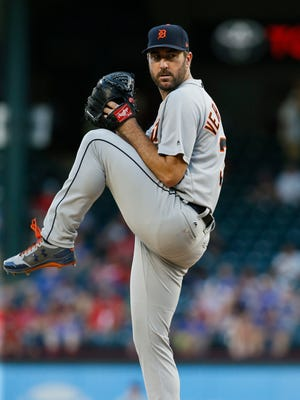 Justin Verlander has spent his entire 13-year career with the Tigers.